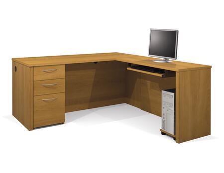 Bestar Furniture 60852 Embassy L-shaped workstation kit