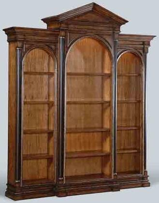 Ambella 28011800001Easton Series Wood 15 Shelves Bookcase