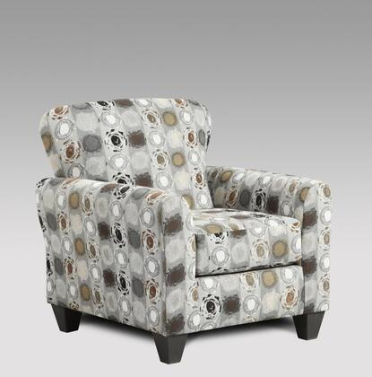 Chelsea Home Furniture 199001 Talbot Accent Chair with 16 Gauge Wire, Sinuous Springs, Hi-Density Foam Core Cushions and Kiln Dried Hardwood Frames in Paintball