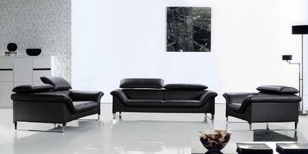 VIG Furniture VG2T0657 Modern Leather Living Room Set