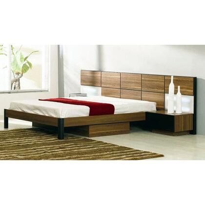 VIG Furniture VGWCRONDO Modrest Rondo Modern Bed with Nightstands