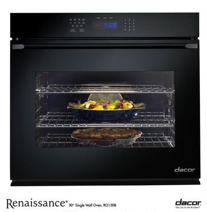 "Dacor RO130B 30""  Single Wall Oven , in Black Glass"