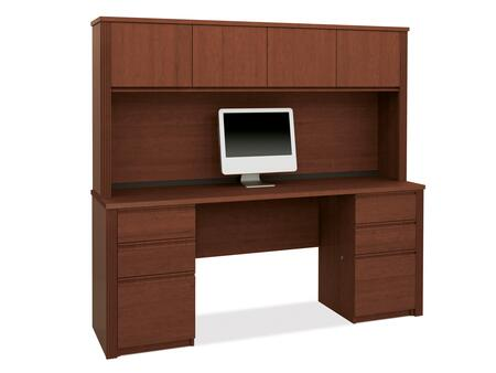 Bestar Furniture 99851 Prestige + credenza and hutch