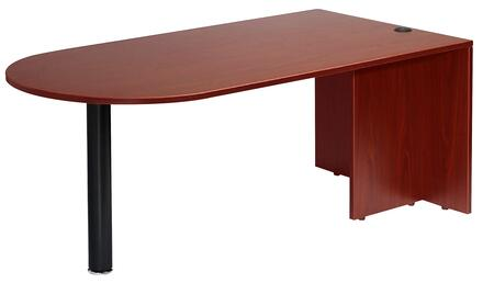 Boss N147M Transitional U-Shape Office Desk