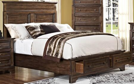 New Classic Home Furnishings 00186EBDMNC Grandview King Bedr