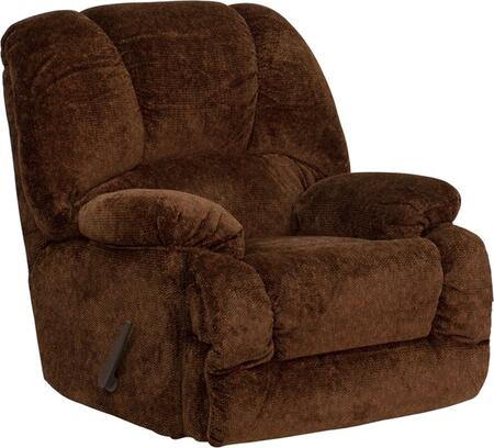 Flash Furniture AM97003976GG Contemporary Zenith Series Contemporary Polyblend Wood Frame Rocking Recliners