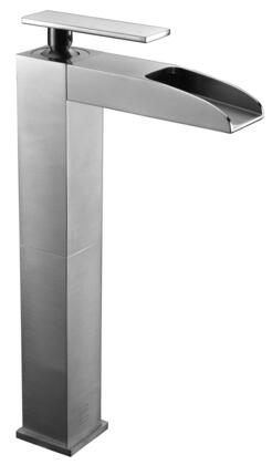 Alfi AB1597-X Tall Waterfall Bathroom Faucet with Brass, Valve, Single Lever Control, Single Hole Deck Mount Installation, UPC Certified And 5-Year Warranty in