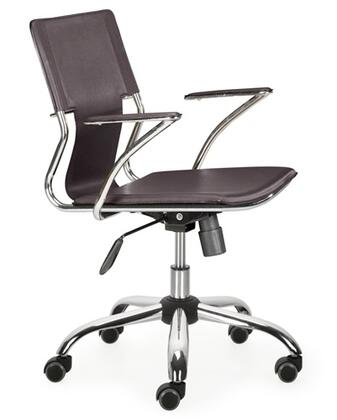 "Fine Mod Imports FMI2213BROWN 25"" Modern Office Chair"