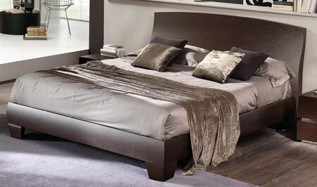 ESF Twist collection i17775i17776 Bed in Espresso