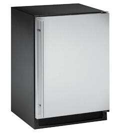 U-Line 2175RCS00  Built In Counter Depth Compact Refrigerator with 5.2 cu. ft Capacity, 3 Glass ShelvesField Reversible Doors