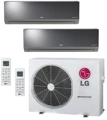 LG 704031 Dual-Zone Mini Split Air Conditioners