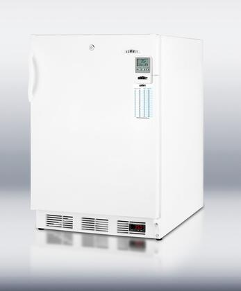Summit FF6L7BIMEDDTADA MEDDTADA Series Compact Refrigerator with 5.5 cu. ft. Capacity in White