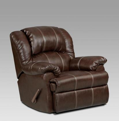 Chelsea Home Furniture 2001BB Verona IV Series Transitional Bonded Leather Wood Frame Rocking Recliners