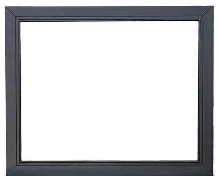 Samuel Lawrence 8942430 Graphite Series Rectangle Landscape Dresser Mirror