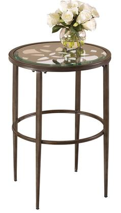 Hillsdale Furniture 5497880 Marsala Series Traditional Metal Round None Drawers End Table