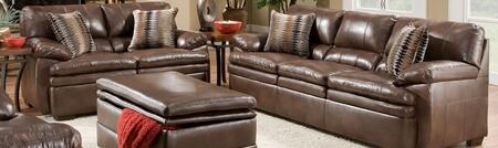Simmons Upholstery 95450302EDITORBROWN Editor Living Room Se