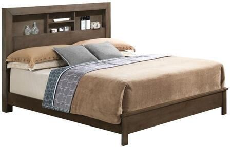 Glory Furniture G2405BQB2 G2405B Series  Queen Size Bookcase Bed