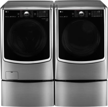LG WM5000HVADLGX5001VPAIR2 Washer and Dryer Combos