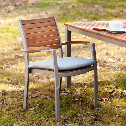 Holly & Martin OD2X11 Mandalay Outdoor Easy Chairs 2pc Set