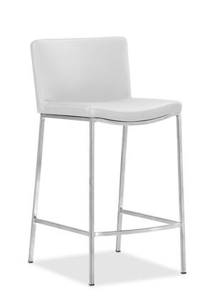 Zuo 300095 Curve Series Residential Bar Stool