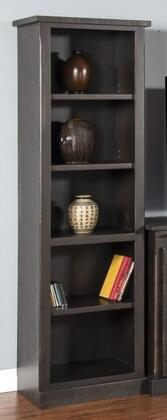 """Sunny Designs 3577XX-P 78"""" Pier with 5 Shelves and Distressed Detailing in"""