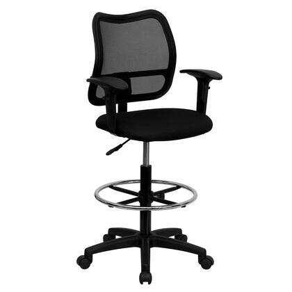 "Flash Furniture WLA277BKADGG 22"" Contemporary Office Chair"