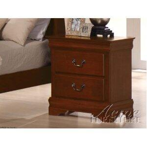 Acme Furniture 00393 Louis Philippe Series  Wood Night Stand