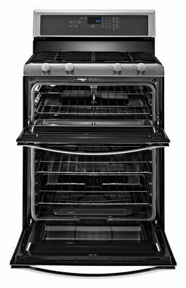Whirlpool Wgg555s0bs 30 Inch Gas Freestanding Range With