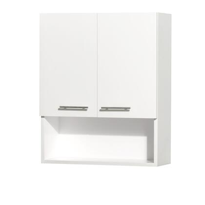 Wyndham Collection WCV207WH Centra Series Wall 0 Drawers Cabinet