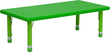 Flash Furniture YUYCX0012RECTTBLGREENGG