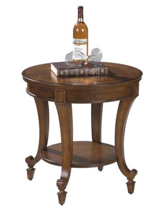 Magnussen T105205 Aidan Series Traditional Round End Table