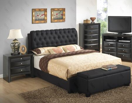 Glory Furniture G1500CFBUPCHNB G1500 Full Bedroom Sets
