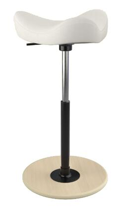 "Varier MOVE 2600 FAME 26"" - 34"" Sit-Stand Chair with Fame Upholstery,"