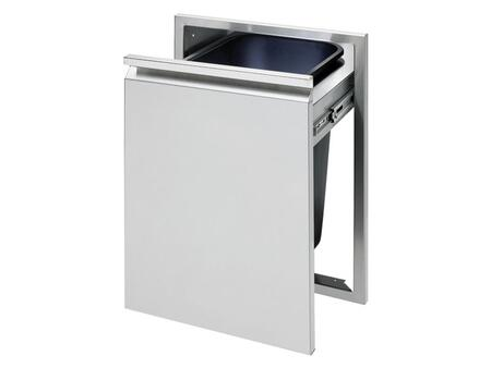 "Twin Eagles TETD18xTB 18"" Trash Drawer, in Stainless Steel"