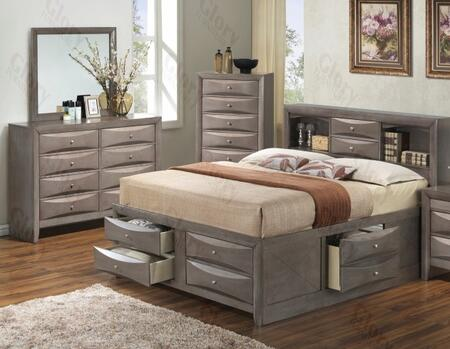 Glory Furniture G1505GKSB3DM G1505 King Bedroom Sets