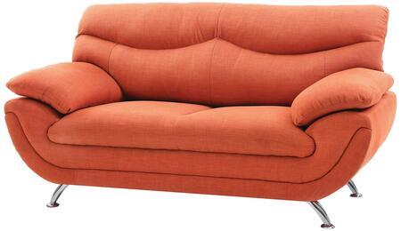 Glory Furniture G439L Fabric Stationary Loveseat