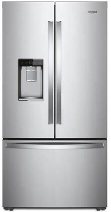 Whirlpool WRF954CIHZ 36 Inch Counter Depth French Door Refrigerator