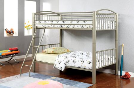Furniture of America CMBK1037T Lovia Series  Twin Size Bed