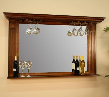American Heritage 100811VO1 Kokomo Series Rectangular Portrait Wall Mirror