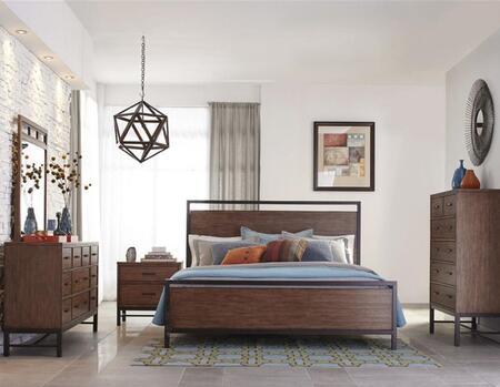 Klaussner 710KPBDM2NC Affinity King Bedroom Sets
