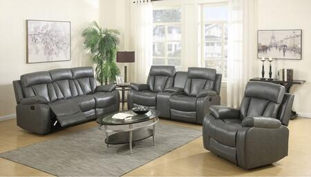 Meridian 645GRYSLC Avery Living Room Sets