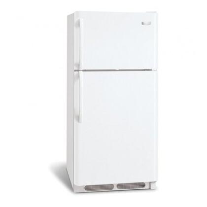 Frigidaire FRT21B4JW Freestanding Top Freezer Refrigerator with 21.0 cu. ft. Total Capacity 2 Wire Shelves