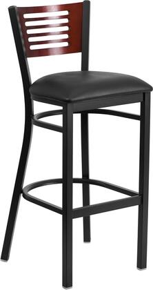 Flash Furniture XUDG6H1BMAHBARBLKVGG  Vinyl Upholstered Bar Stool