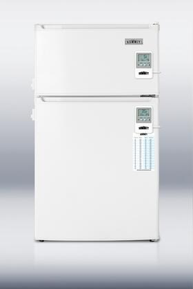 Summit CP35LLMEDADA MEDADA Series Compact Refrigerator with 2.9 cu.ft. Capacity in White