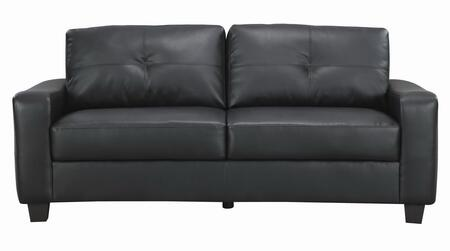 Coaster 502721 Jasmine Series Stationary Bonded Leather Sofa