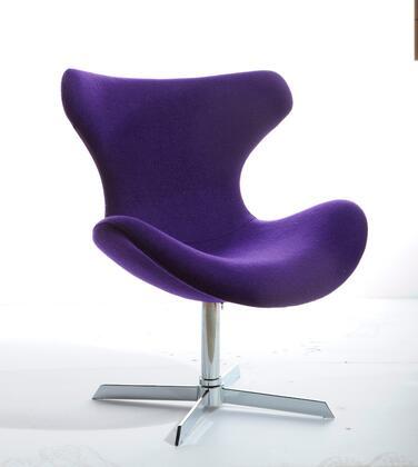 "VIG Furniture VGOBTY87AFPUR 28"" Lounge Chair"