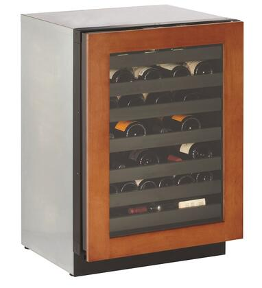 "U-Line 3024WCOL 24"" Wide Modular 3000 Series Wine Captain With Overlay Frame"