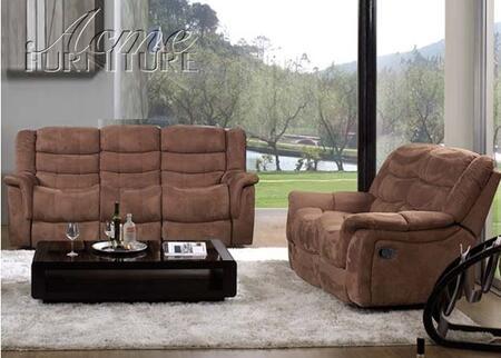 Acme Furniture 50050 Caray Series Loveseat Fabric Sofa