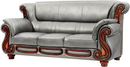 Glory Furniture G826S  Stationary Faux Leather Sofa