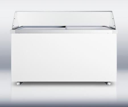 Summit SCF1710PDC  Freezer with 17.0 cu. ft. Capacity in White